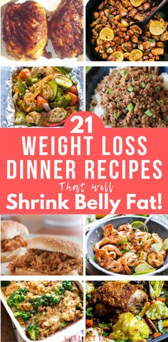These are hands down the best weight loss dinner recipes I've seen! They are so easy to make which is perfect for me as a busy mom. I'm so glad I found these healthy weight loss meals to make such a variety of great dinners. Healthy Recipes For Weight Loss, Healthy Meal Prep, Easy Healthy Recipes, Easy Meals, Healthy Delicious Dinner Recipes, Fast Healthy Dinners, Healthy Easy Dinner For Two, Healthy Dinner Meals, Clean Eating Dinner Recipes