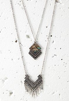 Halskettenset mit Boho-Anhängern - Damen Accessoires, Schmuck und Taschen | online shoppen | Forever 21 - 1000132648 - Forever 21 EU