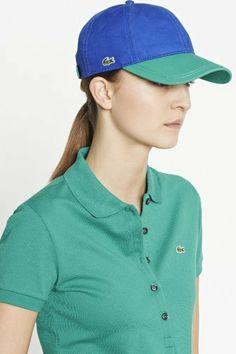 Wear colorful #Lacoste #Polo and #cap this #summer