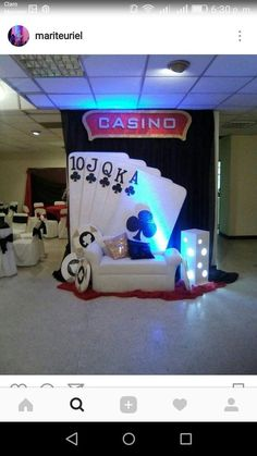 ᐈ Independent Online Casino Guide for UK Gamblers Tema Las Vegas, Las Vegas Party, Vegas Theme, Casino Night Party, 80s Party, Casino Party Decorations, Casino Theme Parties, Party Themes, Party Ideas