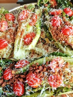 Grilled Romaine and Parmesan Salad | 39 Salads To Make On The Grill