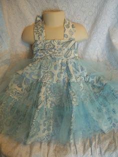 Little Girls Party Dress by LittleGirlsDresses on Etsy, $38.00