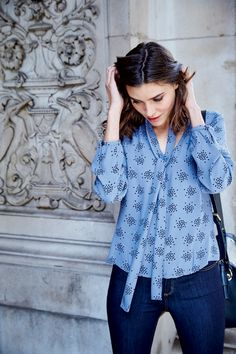 Stylish Outfits, Fashion Outfits, Women's Fashion, Fall Outfits For Work, Clothing Sites, Crepe Fabric, Everyday Fashion, Shirt Blouses, Casual Wear