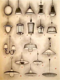 Gerhard Krohn / Fritz Hierl, shapely lamps and lighting systems, (Well-s … Interior Design Renderings, Drawing Interior, Interior Rendering, Interior Sketch, Interior Architecture, Classical Architecture, Drawing Furniture, Furniture Design, Pallet Furniture