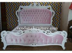 Tempat Tidur Minimalis Pink Queensya