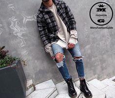 Mens Fashion Guide — via Instagram http://ift.tt/245w86d