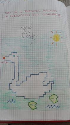 Numerare per 5... Sottrazioni con la prova... Addizioni e sottrazioni in tabella per allenare il Pixel Art, Worksheets, Coding, Activities, Bullet Journal, School, Fun Stuff, Crafts, Color