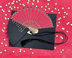 Japanese Fan Invitation #Love Is Sweet Events