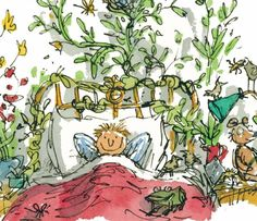 Watercolor Illustration Children, Children's Book Illustration, Quentin Blake Illustrations, Satirical Cartoons, Roald Dahl, Cartoon Styles, Art Sketches, Paintings, Drawings