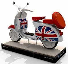 I like this Vespa 150 Scooter. It is the most compelling papercraft project that I have ever seen.