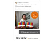 Amor por la milanesa Nuestra primer amiga que consigue 100 likes en Facebook. ¡Genia Total! ¡¡¡Felicitaciones @vic fabrice !!!