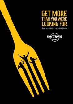 Hard Rock Casino: Fork Advertising Agency: TAXI, Vancouver, Canada Creative…