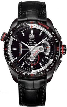 Tag Heuer Grand Carrera Cav5185 Fc6257 reloj de los hombres.