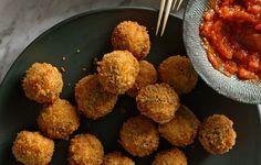 Ricotta and Sage Fried Meatballs - Bon Appétit
