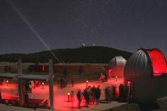 It's a bit of a drive from Marfa, but we recommend checking out a Star Party at the McDonald Observatory while you're in west Texas!