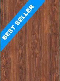 "AltuosCeramic Hampton Collection - Ceramic / Porcelain Tile - Chestnut Wood Look 6""x24"" tile that looks like wood"