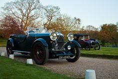Lagonda Tourer and 1913 Twombly Model A cyclecar