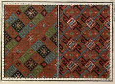 Gallery.ru / Фото #25 - старинные ковры и схемы для вышивки - SvetlanN