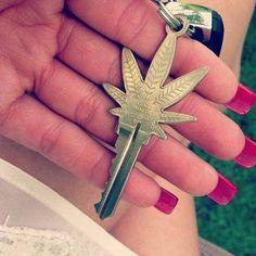 #marijuana I want a key like this!!