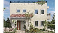パルコン フルール | 外観デザイン | 戸建 | 地震に強い家 コンクリート住宅 パルコン | Palcon 大成建設ハウジング