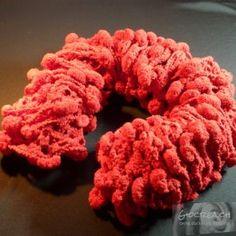 Sciarpa-collo rossa