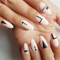 "Discover more information on ""trending nail designs Look at our web site. Minimalist Nails, Nails Now, Love Nails, Nail Manicure, Gel Nails, Mobile Beauty Salon, No Chip Nails, Geometric Nail Art, Shellac"