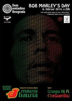 Bob Marley's Day u Domu omladine Beograda 6. februara