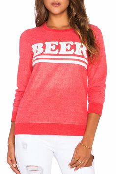 Super soft sweatshirt from Chaser for beer lovers!  Beer Sweatshirt  by Chaser. Clothing - Tops Canada