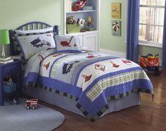 Creative Ways to Add Fun to Your Kids' Bedroom Bedroom With Bath, Kids Bedroom, Bedroom Decor, Bedroom Ideas, Traditional Bedroom, Comforters, Blanket, Interior Design, Creative