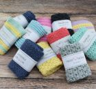 Karklud i sedge stitch Crochet Home, Knit Crochet, Washing Clothes, Crochet Projects, Arts And Crafts, Knitting, Creative, Diy, Dishcloth