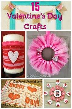 15 Easy Valentine's Day Crafts for Families