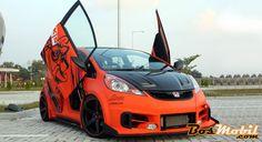 Modif Honda Jazz : Street Racing Si Jago Bass #info #BosMobil