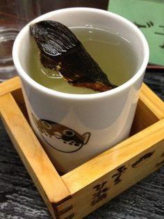 ひれ酒(Hot-Sake)**