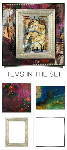 """""""I love surrealism!"""" by tempestaartica ❤ liked on Polyvore featuring art and surrealism"""