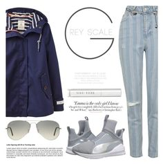 """A walk in the park"" by sweet-jolly-looks ❤ liked on Polyvore featuring Joules, Topshop, Puma, Ray-Ban, Vanity Fair, Bobbi Brown Cosmetics, Versace, SimpleOutfits, simple and topshop"
