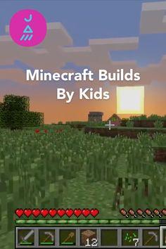 Minecraft builds by kids on JAM.