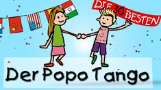 Und zwar in Argentinien! Ja alle lieben… Today we dance tango! Yes everybody loves this popo-tango and wiggle back and forth. Popo-Tango, because he does all the ki … World Languages, Learn German, Kids Songs, Kindergarten Math, Baby Kids, Family Guy, Classroom, Teaching, Education