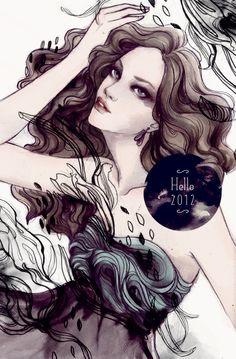 Hello 2012 - Soleil Ignacio Illustrations