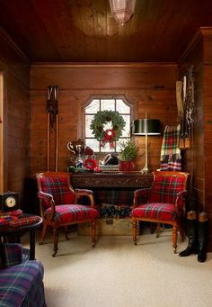Pine Cones and Acorns: A Tartan Christmas Adventure