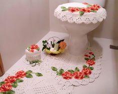 Jogo de Banheiro Rose