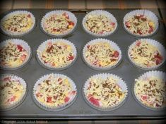 Bacon, Recipies, Muffin, Breakfast, Food, Recipes, Morning Coffee, Essen, Muffins