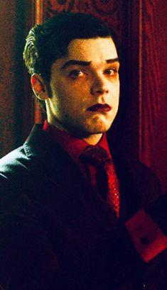 """looks like he said """"oops"""":) Gotham Series, Gotham Cast, Gotham Tv, Gotham Joker, Joker And Harley Quinn, Jerome Valeska Joker, Jerome Gotham, Gotham Characters, Cameron Monaghan"""