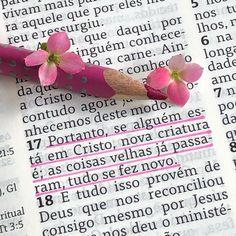 """DiarioComDeusOficial on Instagram: """"🍃2 Coríntios 5.17 🍃 ________________________ Muitos cristãos vêem a conversão como um lavo jato, você entra como um sujo sucateado e sai…"""""""