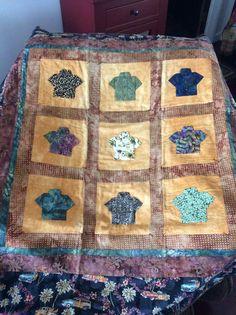 Tim's Hawaiian quilt