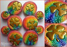 Cupookie: Rainbows & Gold Shamrocks.