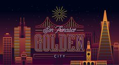 Cities in the Night on Behance