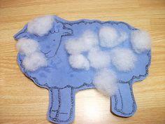 Preschool Crafts for Kids*: sheep