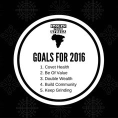 Planting seeds in 2015 to bear fruit in 2016... What's your top 5 must do for the next year? by foreverpreach