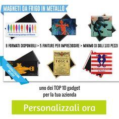 #specialprice on custom #magnets Buy it now: http://www.sadesign.it/it/promozione  #promotionalitems #merchandisingparadise #gadget #madeinsadesign