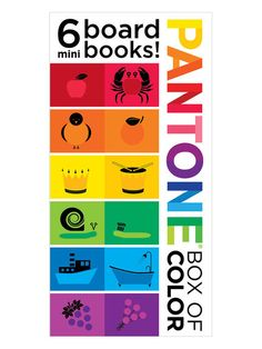 Pantone Colors Board Book For The Budding Designer | Pinterest ...